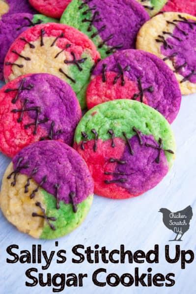 sally sugar cookies from nightmare before Christmas