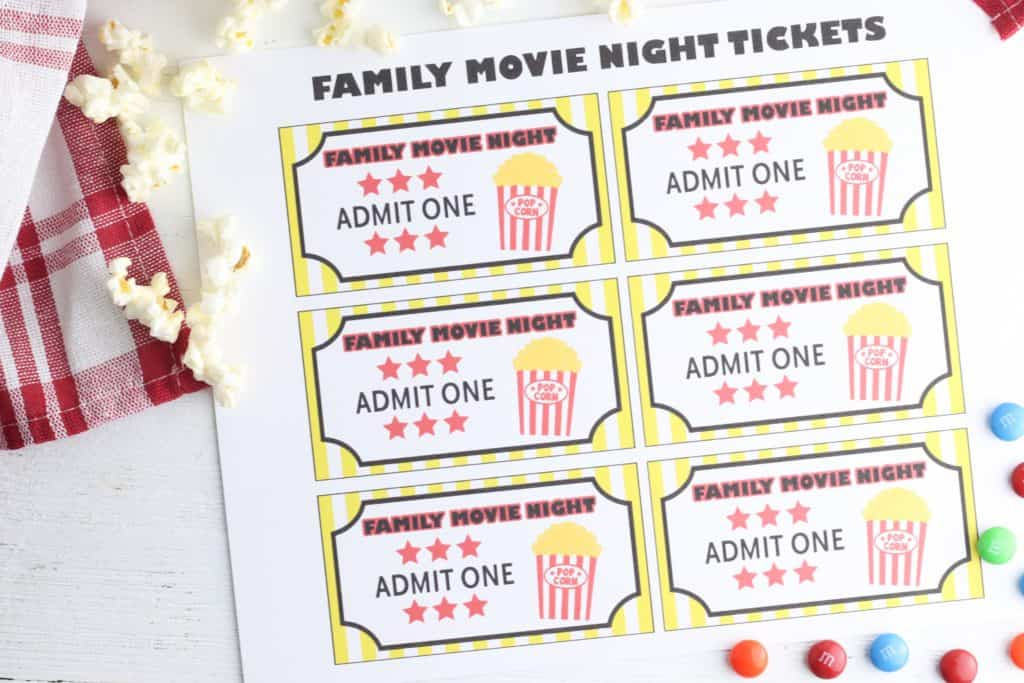 Movie Night at Home Tickets