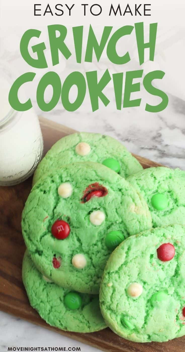 The Grinch Christmas Cookies