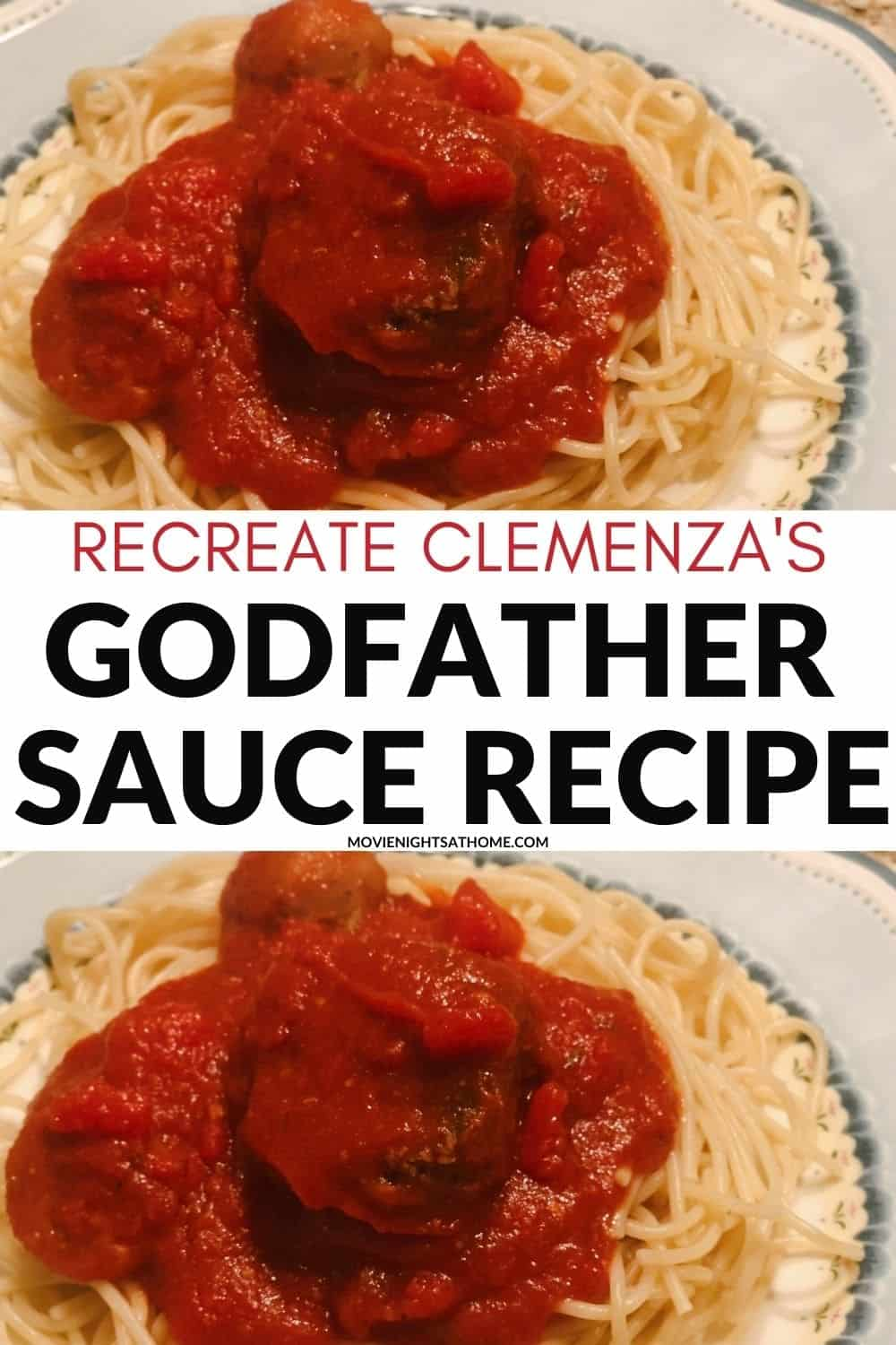 Clemenza Spaghetti Sauce from The Godfather