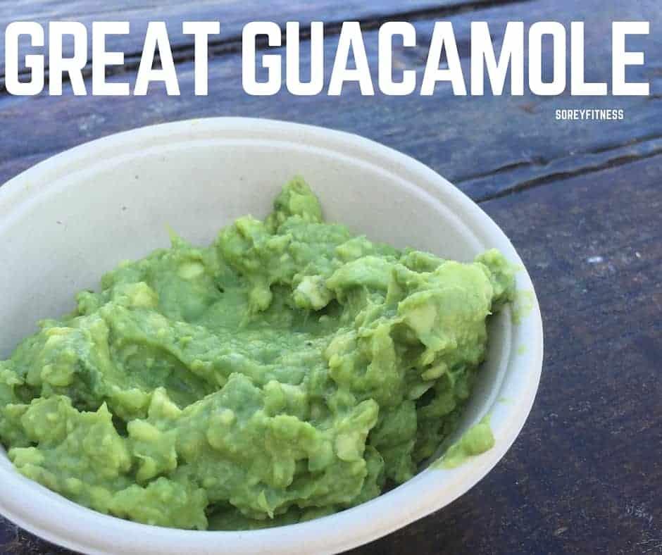 guacamole is a great healthy movie night snack