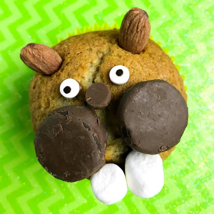 Groundhog's Day Movie Night Cupcakes