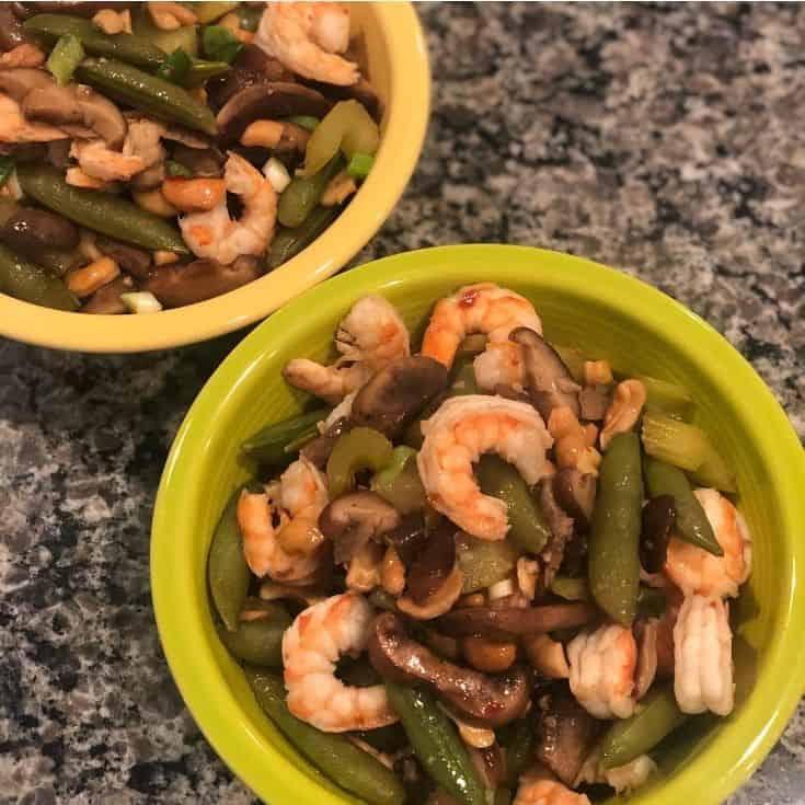 cobra kai stir fry in a bowl