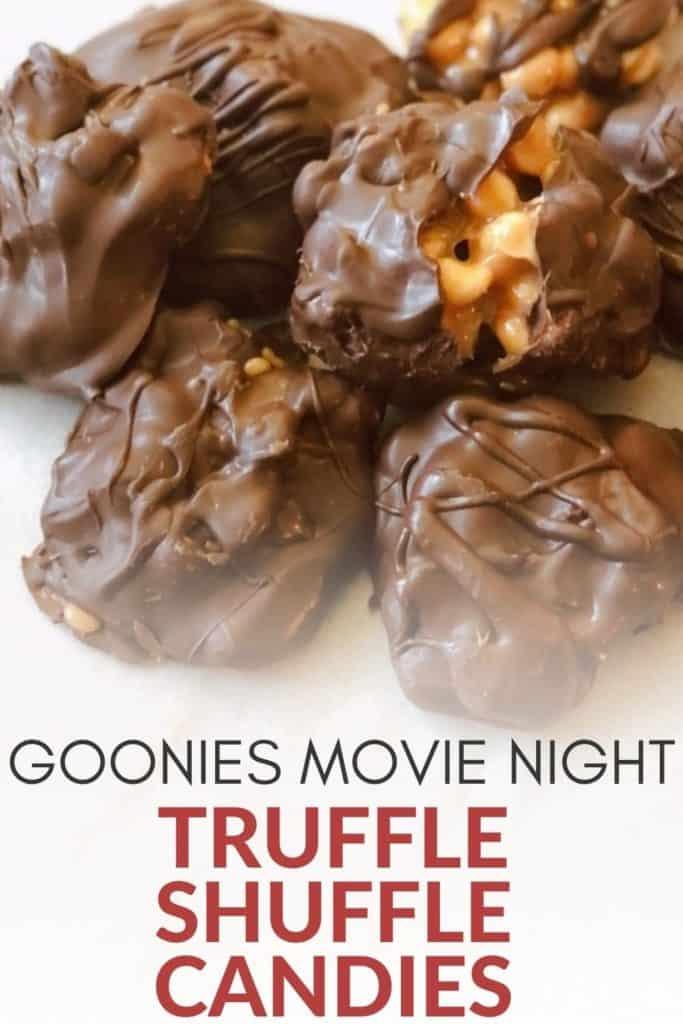 Goonies Movie Night Truffle Shuffle Candies