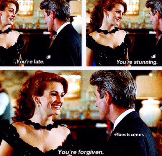 Opera scene in the movie - You're Late, You're Stunning, You're Forgiven.