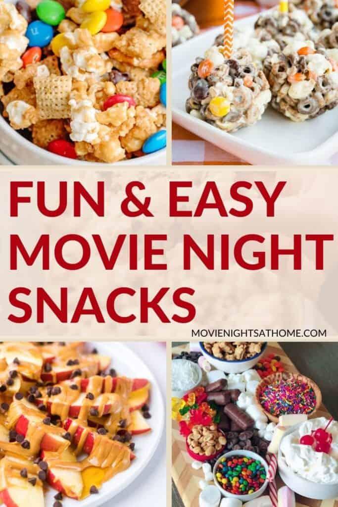 easy movie night snacks