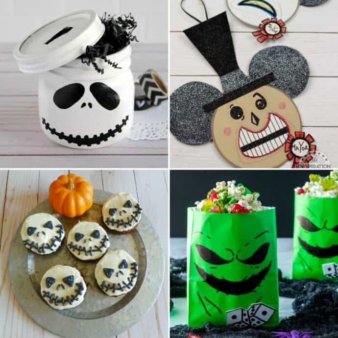 nightmare before Christmas decor and crafts