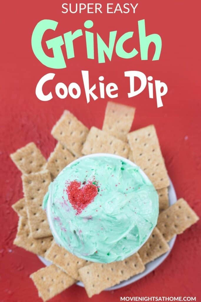 Grinch Dip for Cookies
