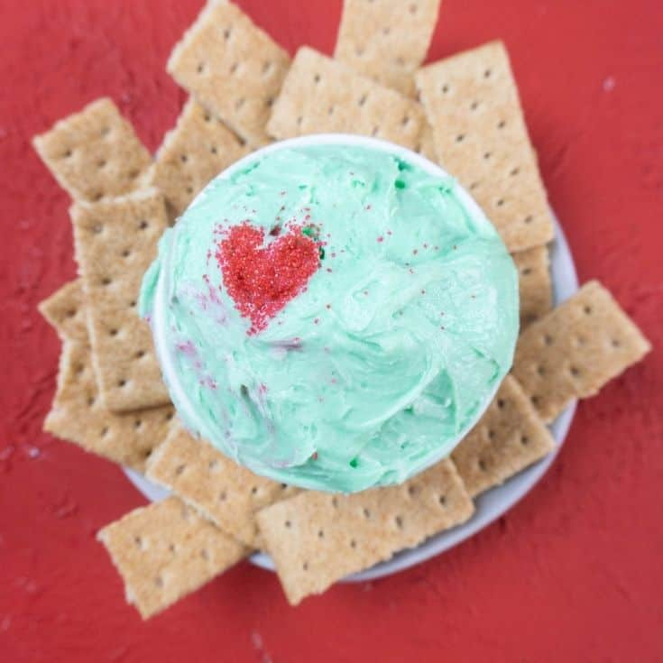 Grinch Dip Party Recipe | Easy Christmas Grinch Cookie Dip
