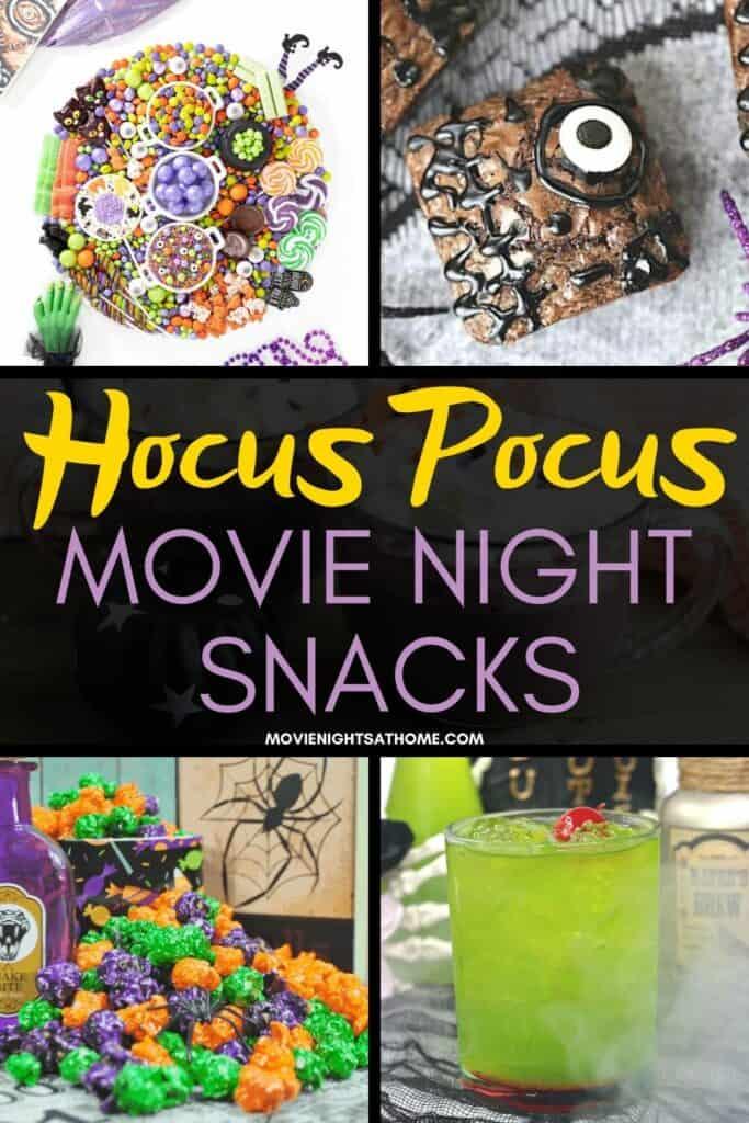 Hocus Pocus Movie Night Recipes