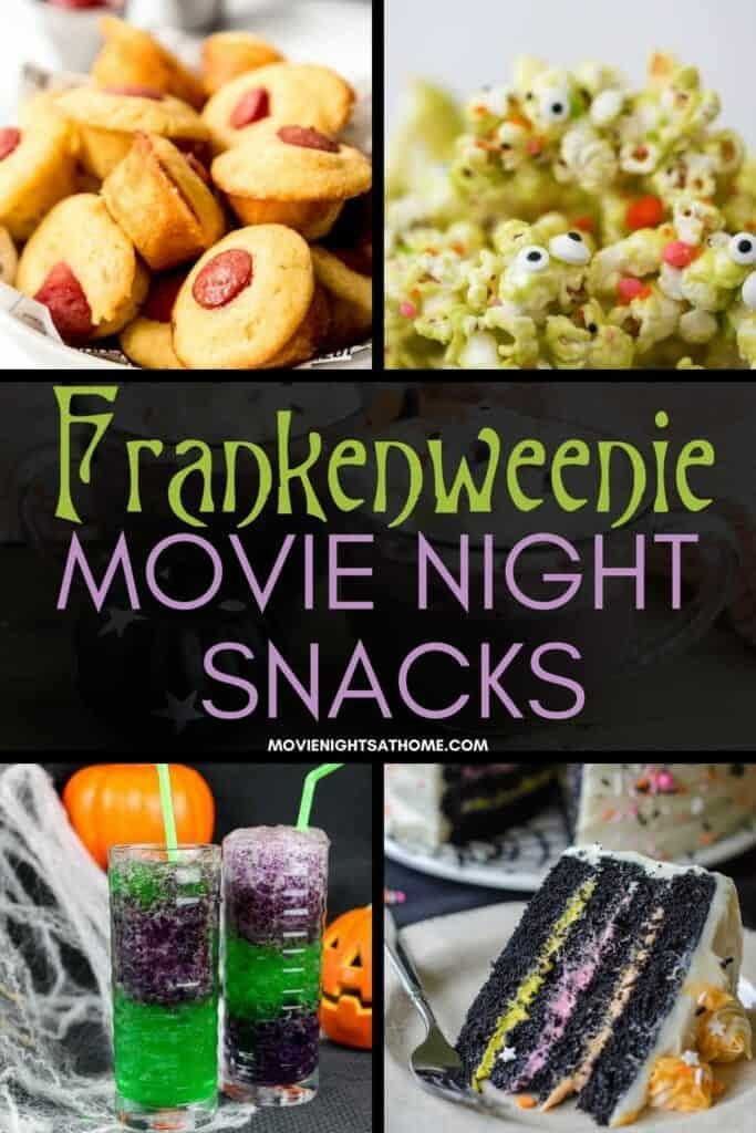 collage of Frankenweenie ideas