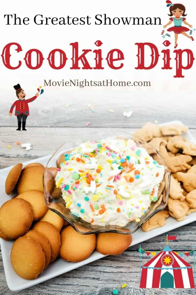greatest showman cookie Dip