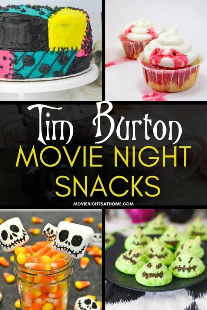 tim burton halloween movie night